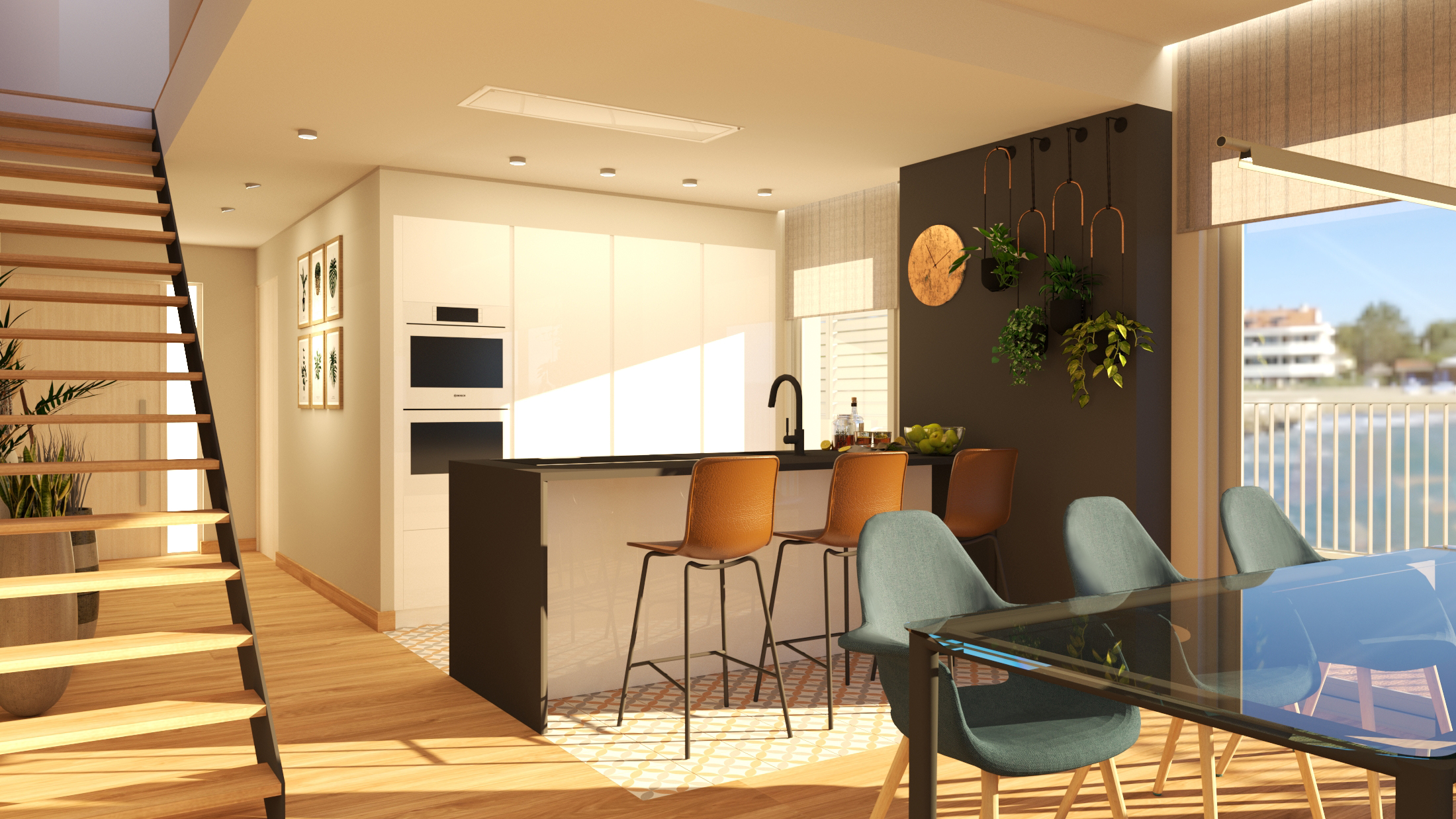 cocina diseño sitges