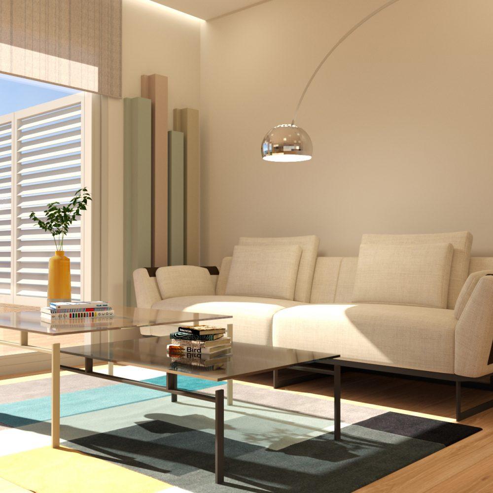 salon moderno sitges