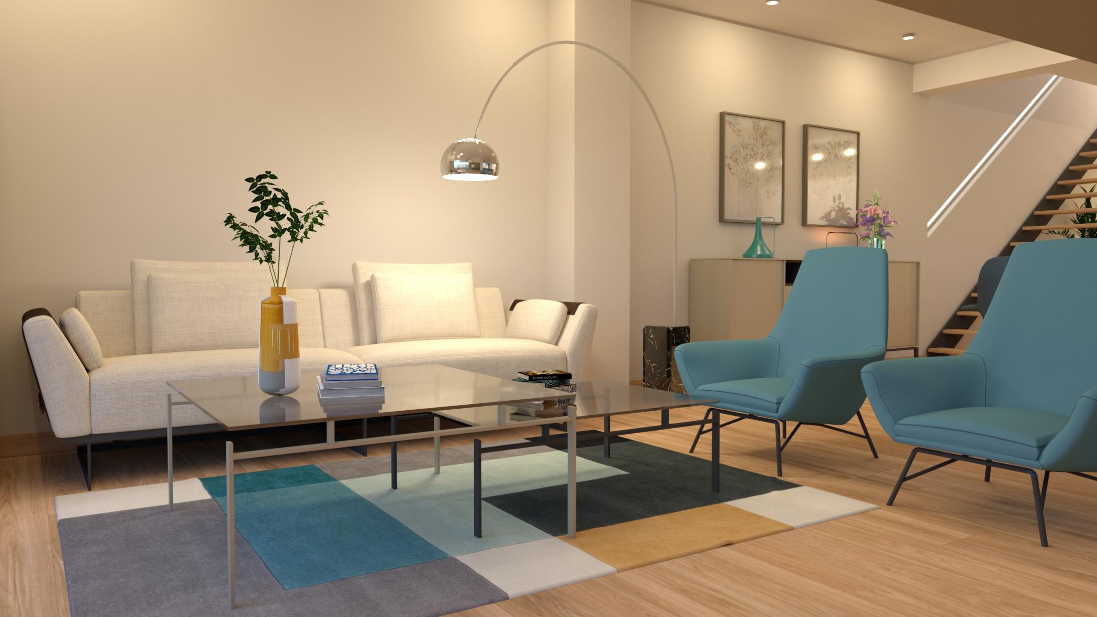 sala de estar lujosa sitges