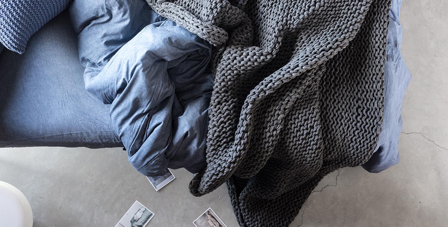 Roba de llit artesanal i sostenible